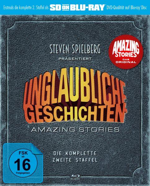 Unglaubliche Geschichten - Amazing Stories: Die komplette zweite Staffel (SD on Blu-ray)
