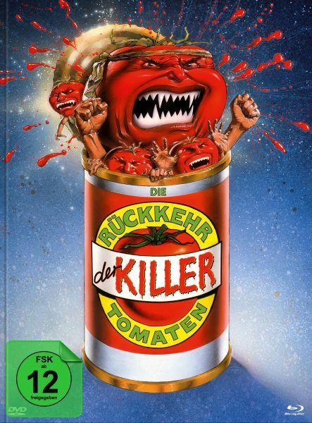 Die Rückkehr der Killertomaten (Blu-ray + DVD im Mediabook) - Cover A