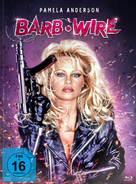Barb Wire - Unrated [Mediabook B] (Blu-ray + DVD)