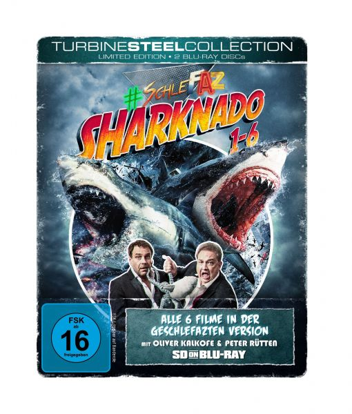 SchleFaZ - Sharknado 1-6 (Limited Edition - Turbine Steel Collection) (SD on Blu-ray)