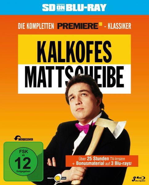 Kalkofes Mattscheibe - Die kompletten Premiere-Klassiker (SD on Blu-ray) (Streichung)