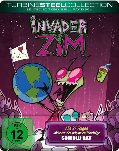 Invader ZIM [Turbine Steel Collection] (SDonBlu-ray)