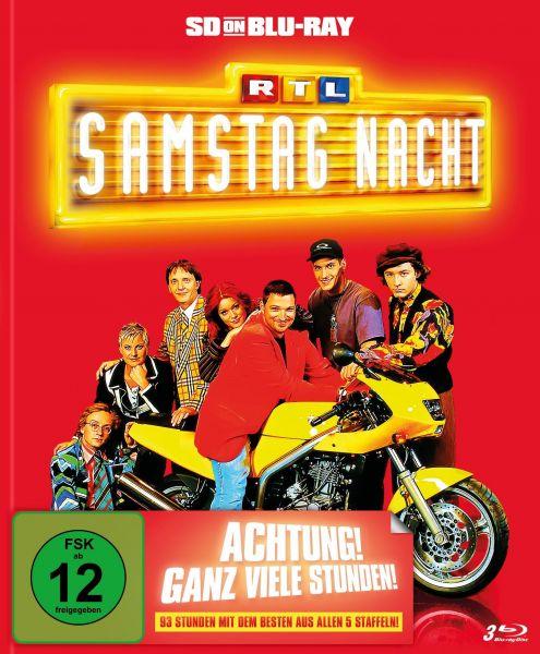 RTL Samstag Nacht - Das Beste aus allen fünf Staffeln (limitiertes Mediabook) (SD on Blu-ray)