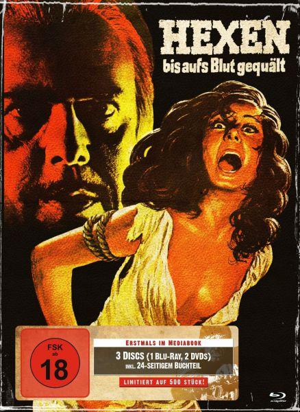 Hexen bis aufs Blut gequält (3-Disc-Mediabook Cover A)