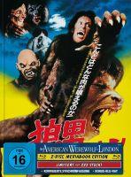 AN AMERICAN WEREWOLF IN LONDON 2-Disc-Mediabook (Blu-ray + Bonus-Blu-ray) (JAP-Artwork) - 222 Stk.