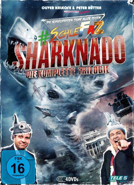 SchleFaZ - Sharknado: Die komplette Trilogie