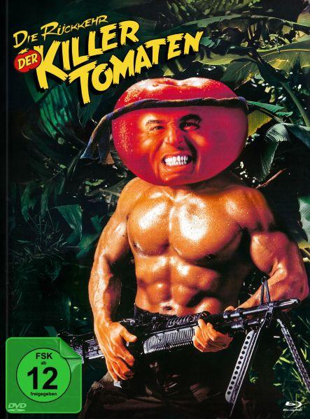Die Rückkehr der Killertomaten (Blu-ray + DVD im Mediabook) - Cover D