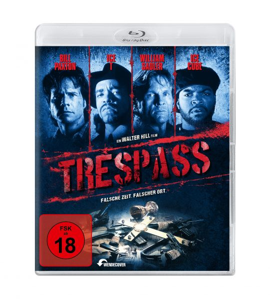 Trespass (uncut) (Blu-ray )