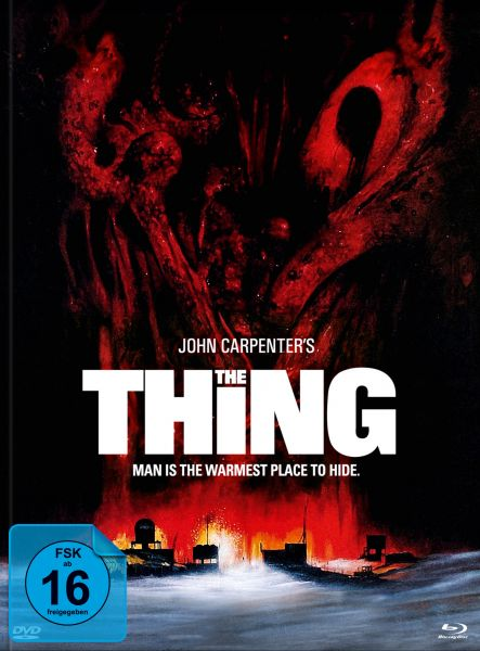 John Carpenters THE THING - 3-Disc-Mediabook Edition #Edwards (BD & DVD)