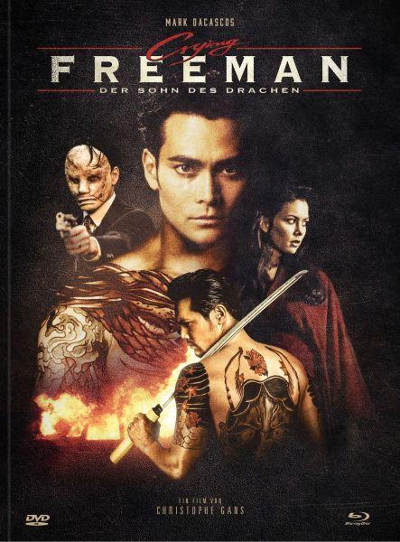 Crying Freeman [Blu-ray + DVD Mediabook] - Cover C Cast