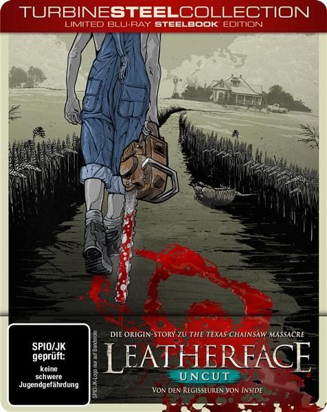 Leatherface (Uncut) (Limited Edition SteelBook)(Blu-ray)