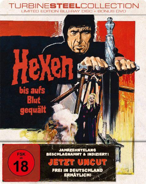 Hexen Bis Aufs Blut Gequält (Limited Edition Turbine Steel) (Blu-ray + Bonus-Dvd)