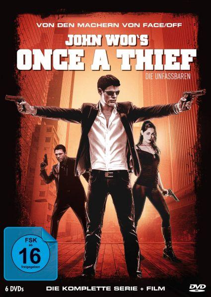 John Woo's Once A Thief - Die Komplette Serie + Film