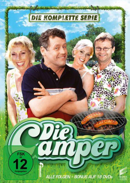 Die Camper - Die komplette Serie (Neuauflage)