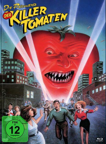 Die Rückkehr der Killertomaten (Blu-ray + DVD im Mediabook) - Cover C