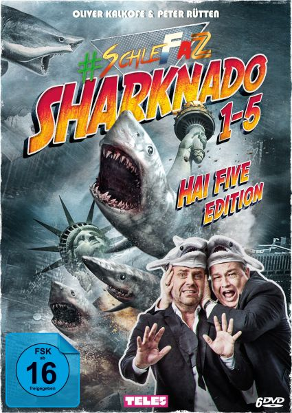 SchleFaZ - Sharknado 1-5: Hai Five Edition
