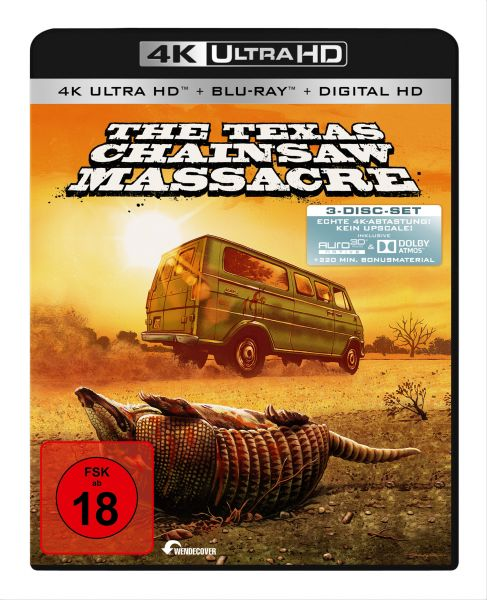 The Texas Chainsaw Massacre - 3-Disc-Set (4K Ultra HD)