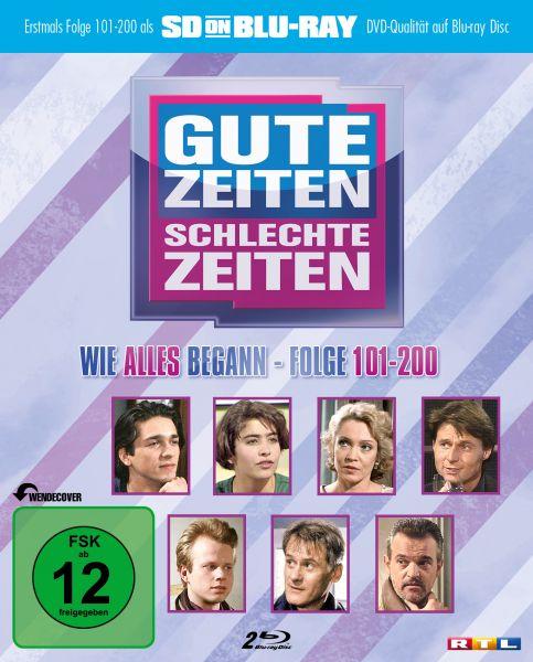 Gute Zeiten, schlechte Zeiten - Vol. 2: Folge 101-200 (zum 25-jährigen Jubiläum) (SDon Blu-ray)