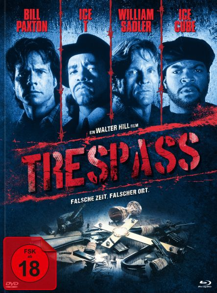 Trespass (uncut) (Blu-ray + DVD im Mediabook) - Cover A