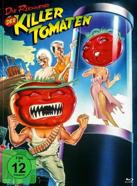 Die Rückkehr der Killertomaten (Blu-ray + DVD im Mediabook) - Cover B