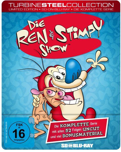 Die Ren & Stimpy Show (Turbine Steel Collection, limitiert) (SD on Blu-ray)