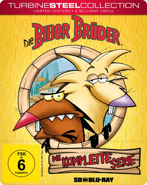 Die Biber Brüder [Turbine Steel Collection] (SD on Blu-ray)