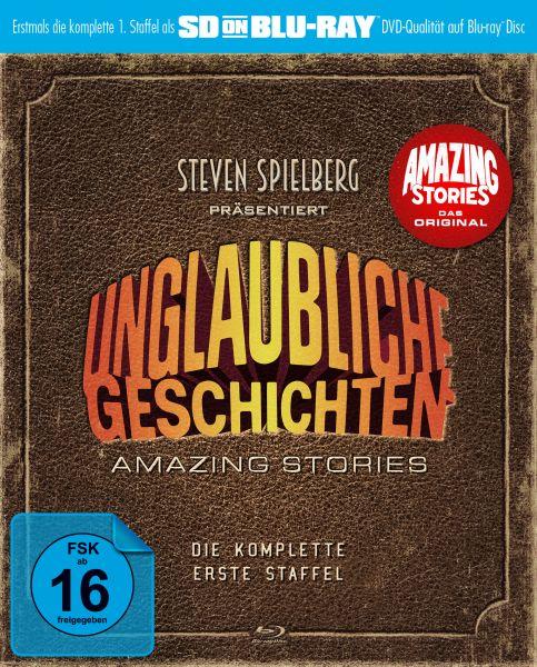 Unglaubliche Geschichten - Amazing Stories: Die komplette erste Staffel (SD on Blu-ray)