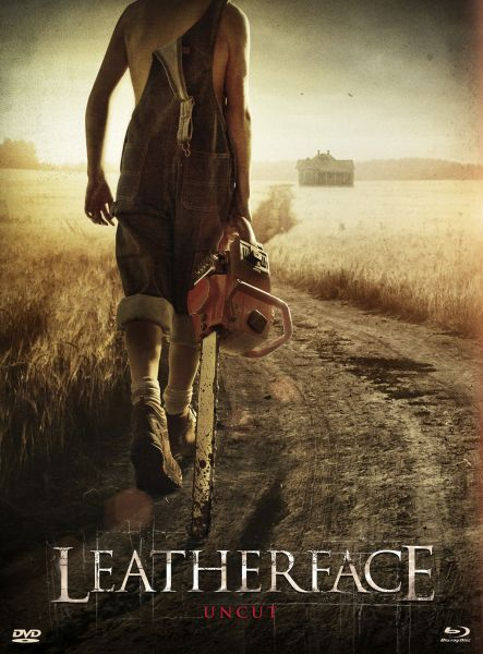 Leatherface (Uncut) [BD+DVD-Mediabook - Cover B] (VIP-Edition)