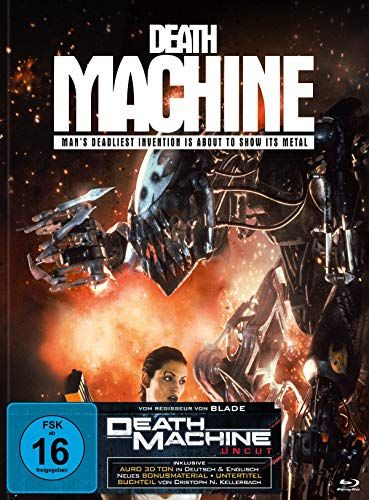 Death Machine (BD + DVD im Mediabook C)