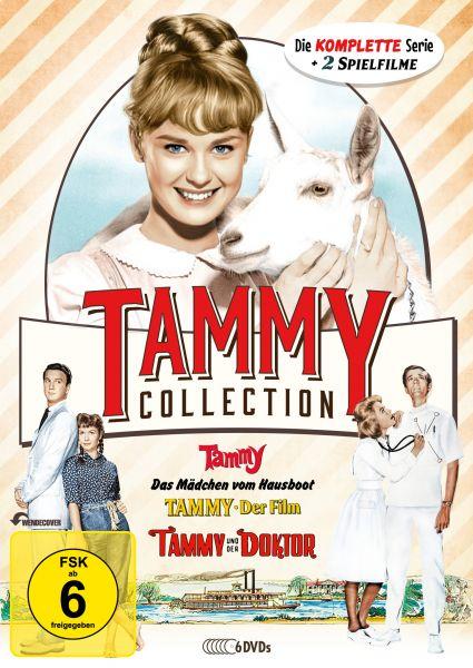 Die Tammy-Collection: Die komplette Serie + Spielfilme auf 6 DVDs