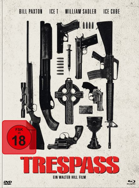 Trespass (uncut) (Blu-ray + DVD im Mediabook) - Cover C