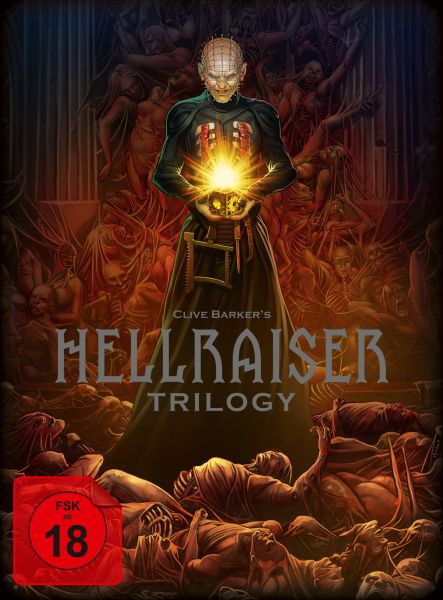 Hellraiser Trilogy Blu-ray-Deluxe-Box - Limited Edition Blu-ray-Set
