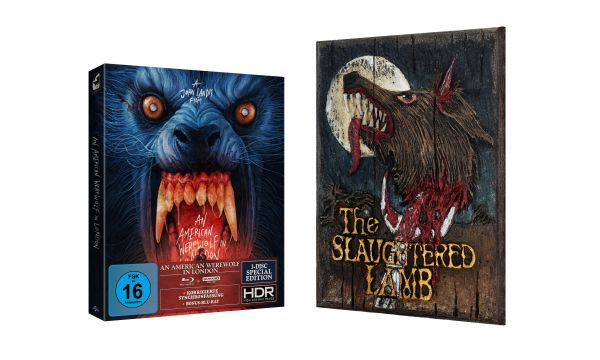AN AMERICAN WEREWOLF IN LONDON - 3-Disc-Special Edition + Miniatur-Replica-Pub-Schild