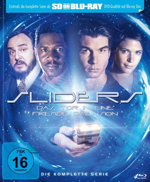 Sliders - Das Tor in eine fremde Dimension: Die komplette Serie (Limited Mediabook) (SD on Blu-ray)
