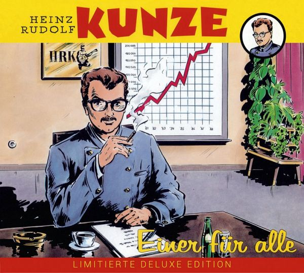 Kunze, Heinz Rudolf - Einer Für Alle - Live In Der DDR '89 (Doppel-CD)