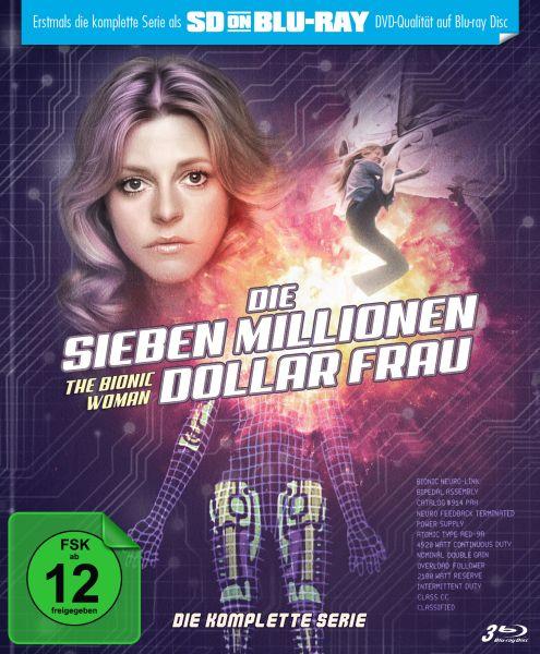 Die Sieben Millionen Dollar Frau - Die komplette Serie (Limited Mediabook) (SD on Blu-ray)