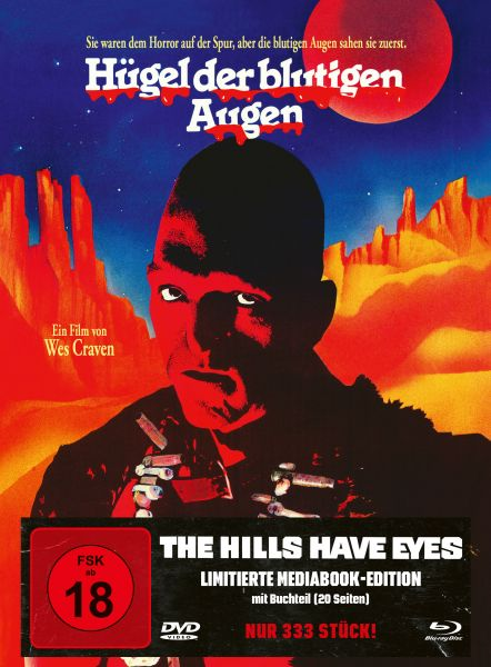 The Hills Have Eyes - Mediabook Cover A (BD + DVD) [limitiert auf 333 Stück]