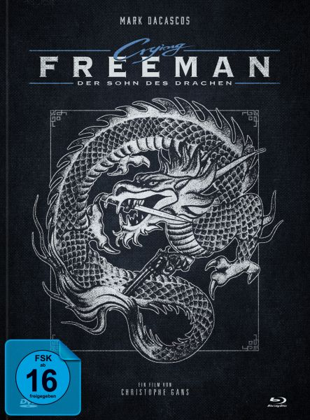 Crying Freeman [Blu-ray + DVD Mediabook] - Cover A Dragon