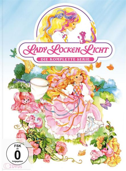 Lady Lockenlicht - Die komplette Serie (limitiertes Mediabook) (2 DVD)