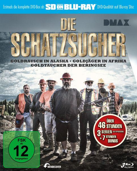Die Schatzsucher - Goldrausch Edition (SD on Blu-ray) (3 BDs)